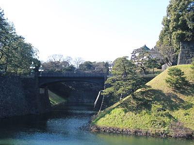 鉄橋と伏見櫓 (3)