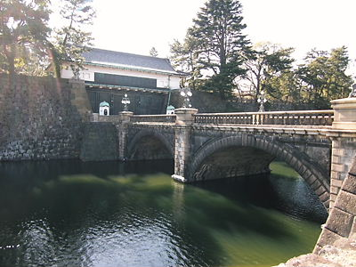 二重橋と正門