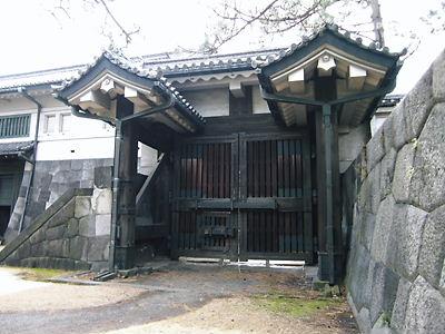 平川門(不浄門)