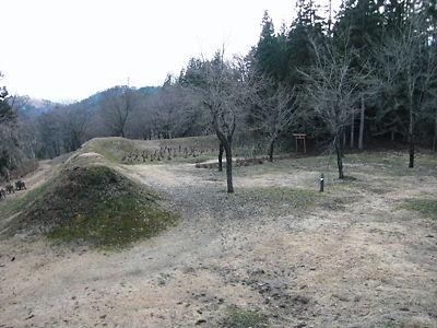 久川城本丸 (2)