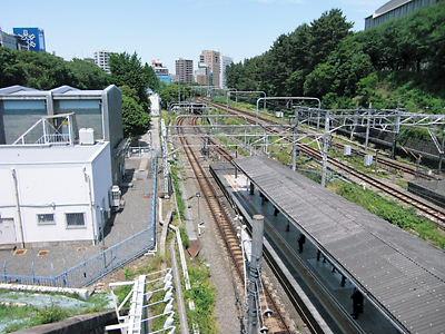 四谷駅付近