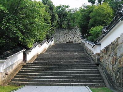 津山城登城口