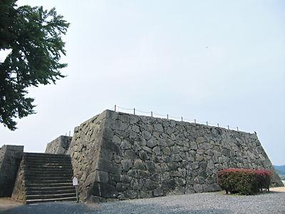 津山城天守台