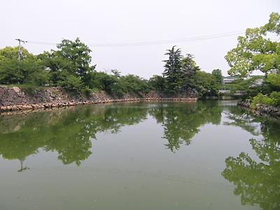 岡山城外濠