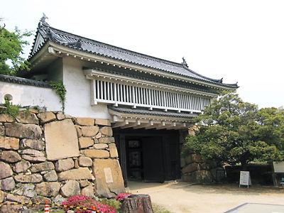 岡山城 門