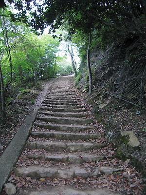 備中松山登山道 (3)