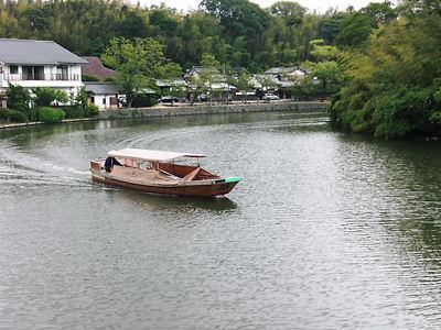 松江城内堀