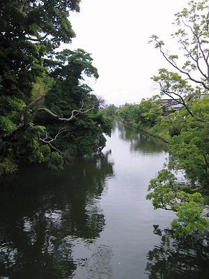 松江城内堀 (2)