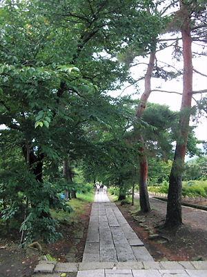 前山寺参道