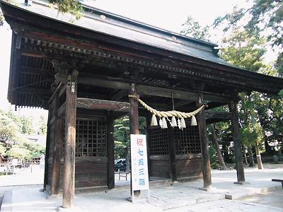浅間神社神門