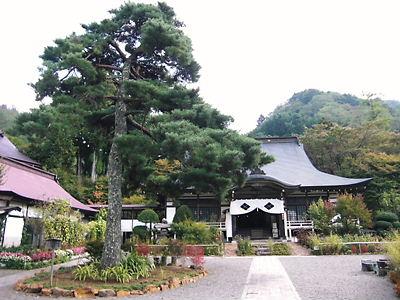 景徳寺本堂と