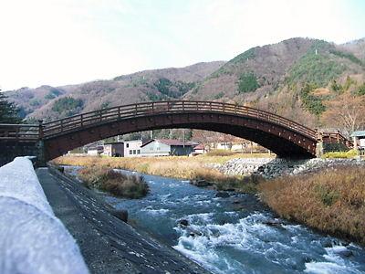 奈良井の橋