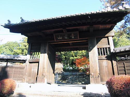 犬山城城門