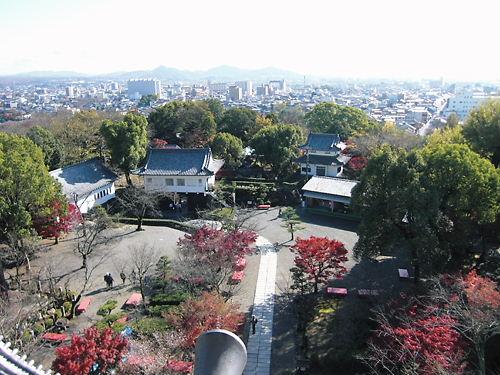 犬山城天守より (3)