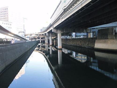 雉橋あたり
