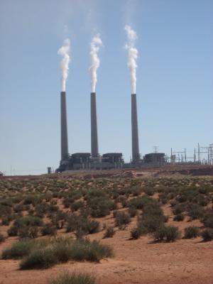 ナバホの発電所