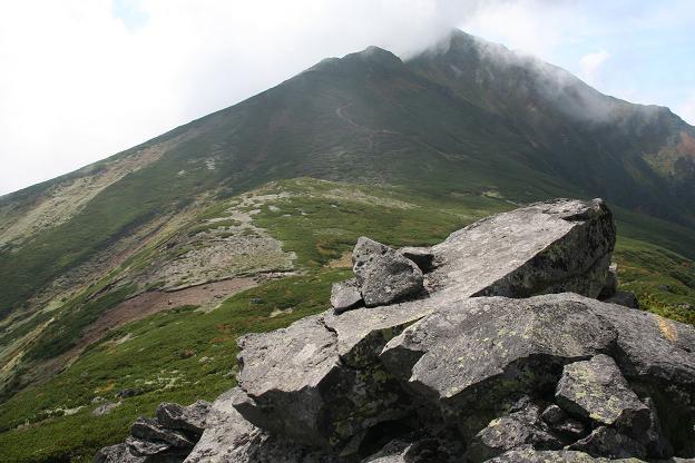 三峰~富良野岳