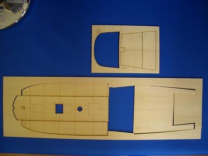 甲板下張りの接着-1