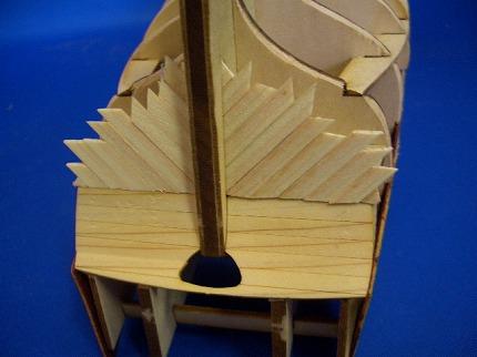 船尾外板の組み立て2