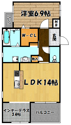 仮称)下新庄マンション5・6号室