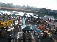 京橋朝市3月-風景