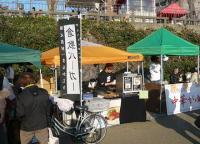 京橋朝市3月-倉敷バーガー