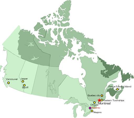 カナダ・マップ
