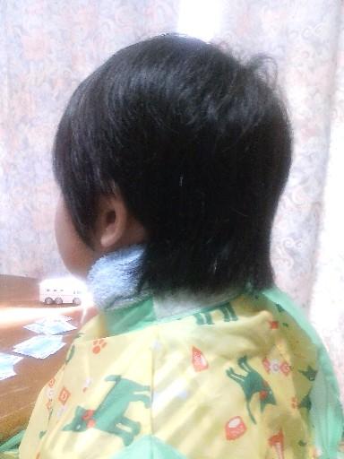 ちぃ、髪を切る☆