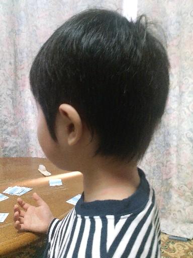 ちぃ、髪を切る☆完成
