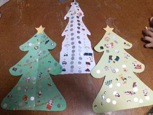 手作りクリスマスツリー09