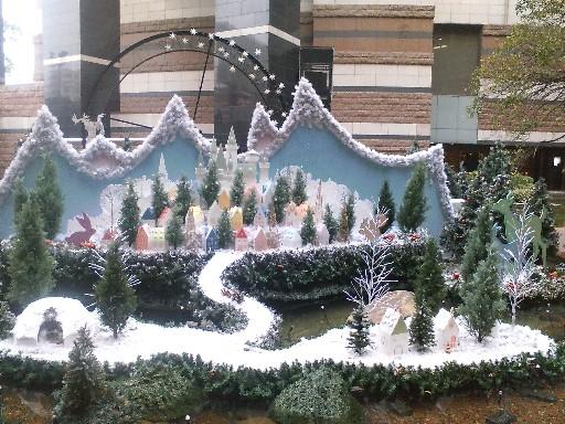 キャナルのクリスマス09町