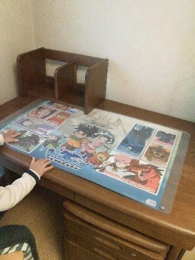 ちぃくんの机②