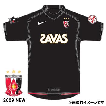 浦和レッズ 09 GK ユニフォーム 半袖(ブラック)