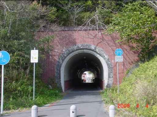 軽便のトンネル