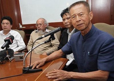 PAD幹部のチャムロン元バンコク都知事