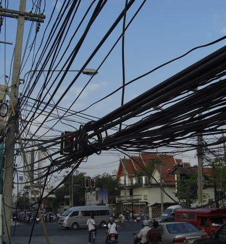 グチャグチャ電線2