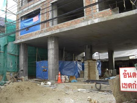 工事現場の住居