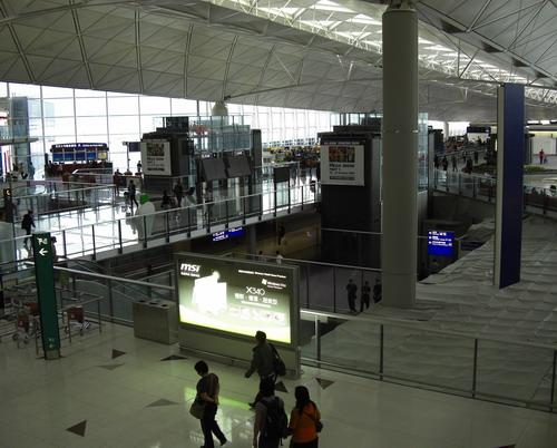 Hong-Kong airport