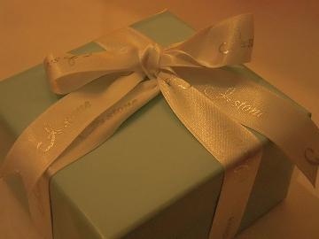 ティファニー風の箱