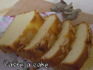 ぐりとぐらのカステラケーキ♪