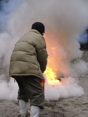 防火訓練01