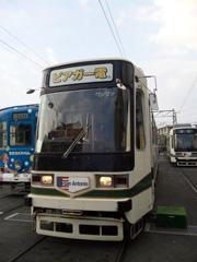 今年は毎日!熊本市交通局のビアガー電 in 2009