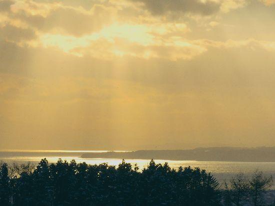 夕方の函館湾