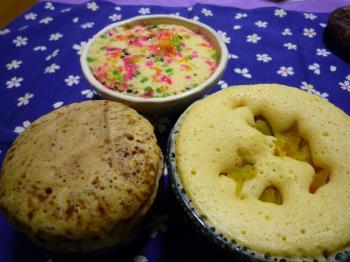 簡単モコモコケーキ