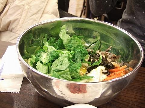 野菜ビビンバ
