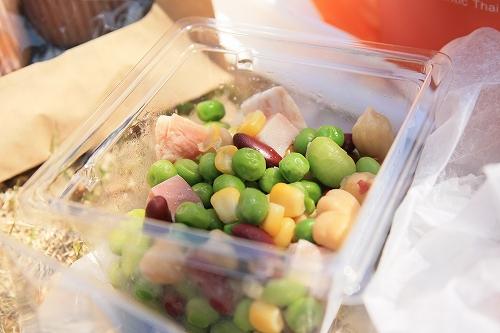 豆サラダ?