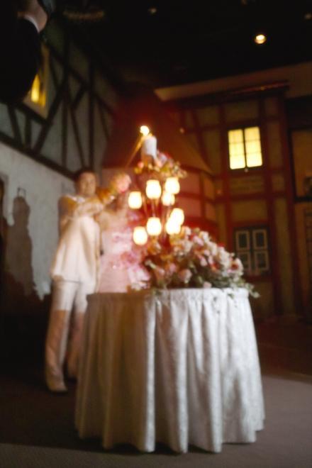 結婚式 ろうそく 二人 8月 名駅