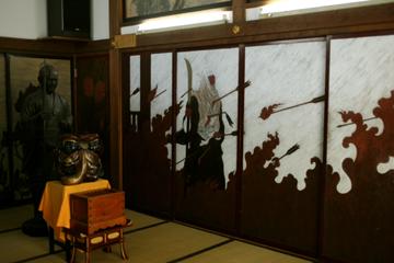 武蔵某弁慶の屏風