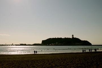 見えるは江ノ島