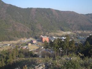 山頂からの眺め クリックすると大きな写真になります。